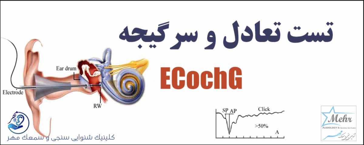 تست تعادل و سرگیجه Ecog
